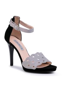 Szare sandały Libero