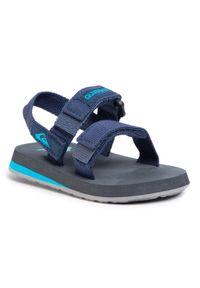 Niebieskie sandały Quiksilver na lato