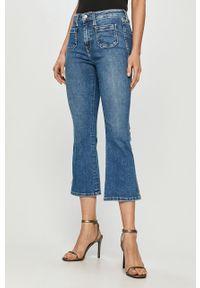 Niebieskie jeansy bootcut Pepe Jeans retro