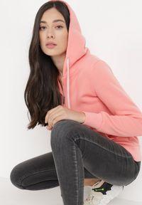 Born2be - Jasnoróżowa Bluza Mylion. Kolor: różowy. Materiał: bawełna, dzianina, polar. Styl: sportowy