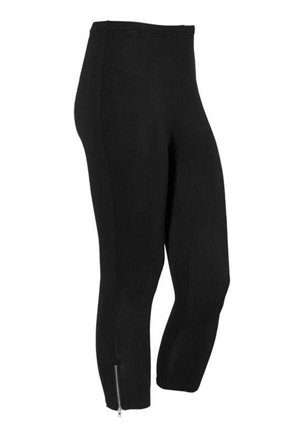 Cellbes Legginsy Czarny female czarny 62/64. Kolor: czarny. Materiał: jersey, wiskoza, guma