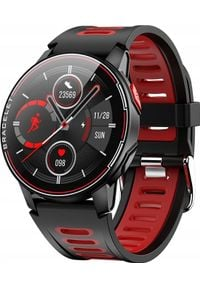 Smartwatch ZAXER Z6 Czerwony. Rodzaj zegarka: smartwatch. Kolor: czerwony