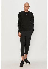Czarne spodnie dresowe Kappa