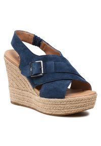 Niebieskie sandały Ugg
