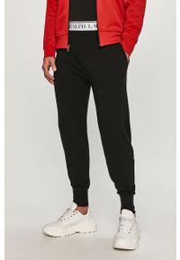 Czarne spodnie dresowe Polo Ralph Lauren z nadrukiem