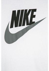 Biały t-shirt Nike Kids z nadrukiem