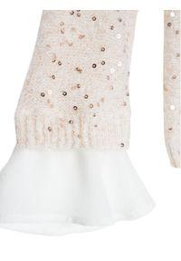 Liu Jo Kids Sweter KF0084 MA96I Beżowy Regular Fit. Kolor: beżowy #3