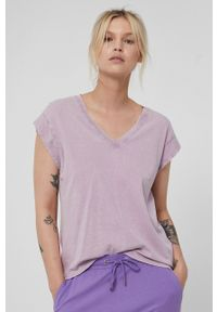 medicine - Medicine - T-shirt Basic. Kolor: fioletowy