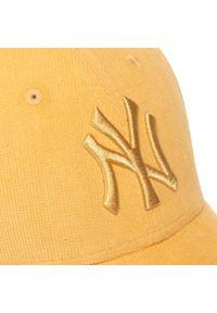 Żółta czapka z daszkiem New Era