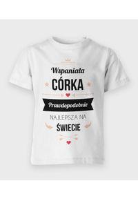 MegaKoszulki - Koszulka dziecięca Wspaniała Córka. Materiał: bawełna