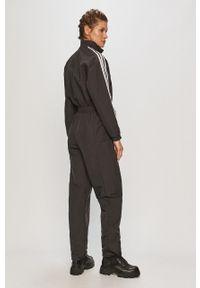 Czarny kombinezon adidas Originals długi, z długim rękawem, na co dzień, casualowy