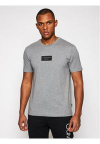 Calvin Klein T-Shirt Chest Box Logo K10K106484 Szary Regular Fit. Kolor: szary