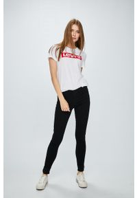 Czarne jeansy Levi's® biznesowe, na spotkanie biznesowe