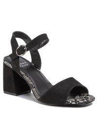 Czarne sandały Jenny Fairy casualowe, na co dzień