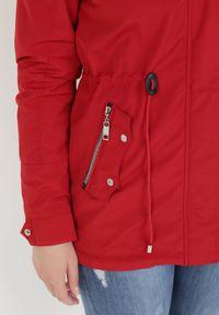 Czerwona kurtka przejściowa Born2be #6
