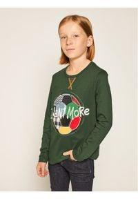 Zielona koszulka z długim rękawem Desigual