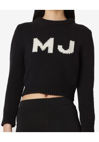 THE MARC JACOBS - Czarny sweter The Shrunken Swetaer. Kolor: czarny. Materiał: wełna