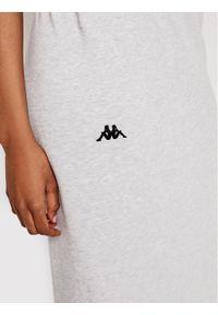 Kappa Spódnica midi Ismini 309092 Szary Regular Fit. Kolor: szary