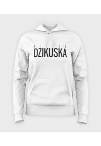 MegaKoszulki - Bluza damska z kapturem Dzikuska. Typ kołnierza: kaptur