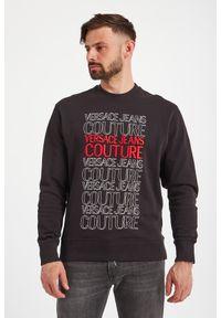Versace Jeans Couture - BLUZA VERSACE JEANS COUTURE. Typ kołnierza: bez kaptura. Wzór: napisy