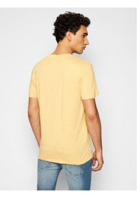 Jack & Jones - Jack&Jones T-Shirt Playa Stripe 12188495 Żółty Regular Fit. Kolor: żółty