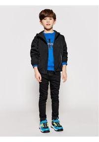 Calvin Klein Jeans Kurtka przejściowa Monogram Badge IB0IB00856 Czarny Regular Fit. Kolor: czarny