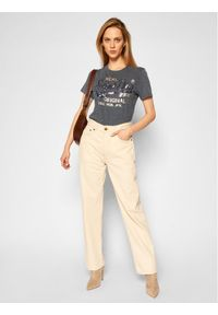Superdry T-Shirt Sequin W1010248A Szary Regular Fit. Kolor: szary