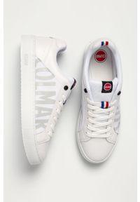 Colmar - Buty. Nosek buta: okrągły. Zapięcie: sznurówki. Kolor: biały. Materiał: skóra ekologiczna, syntetyk, materiał, guma. Szerokość cholewki: normalna #5