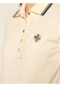 Beżowa koszulka polo Tory Burch polo
