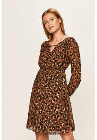 Wielokolorowa sukienka Haily's casualowa, na co dzień, rozkloszowana, mini