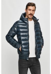 Niebieska kurtka Colmar na co dzień, casualowa