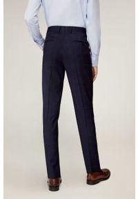 Niebieskie spodnie Mango Man