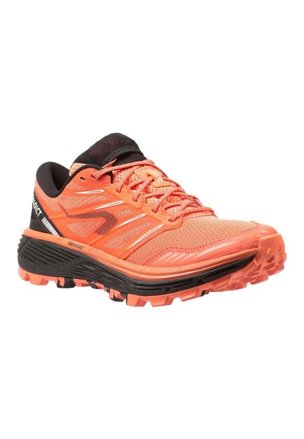 EVADICT - Buty do biegania w terenie damskie MT CUSHION. Kolor: pomarańczowy, czarny, wielokolorowy, różowy. Materiał: kauczuk. Szerokość cholewki: normalna