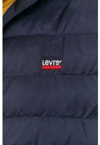 Levi's® - Levi's - Kurtka. Okazja: na co dzień, na spotkanie biznesowe. Kolor: niebieski. Materiał: puch. Styl: biznesowy, casual