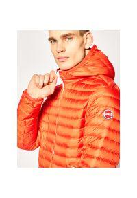 Pomarańczowa kurtka puchowa Colmar