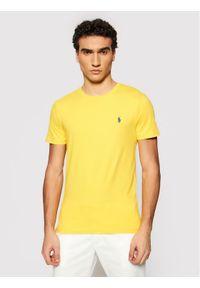 Polo Ralph Lauren T-Shirt Ssl 710671438209 Żółty Regular Fit. Typ kołnierza: polo. Kolor: żółty