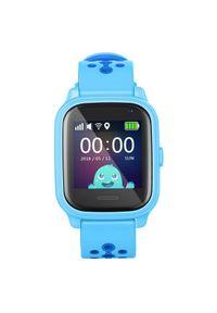 Niebieski zegarek Smartomat smartwatch