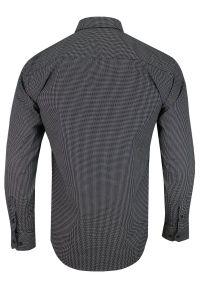 Elegancka koszula Rigon z klasycznym kołnierzykiem, długa, z długim rękawem