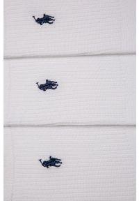 Białe skarpetki Polo Ralph Lauren
