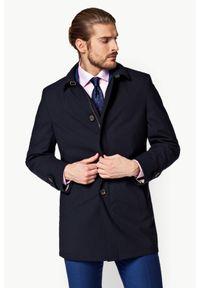 Niebieska kurtka Lancerto klasyczna, do pracy