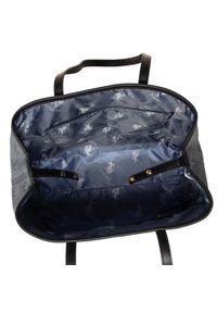 Szara torebka klasyczna U.S. Polo Assn klasyczna, skórzana