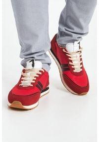 Trussardi Jeans - SNEAKERSY TRUSSARDI. Nosek buta: okrągły. Zapięcie: sznurówki. Materiał: materiał