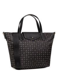 Czarna torebka klasyczna Pollini
