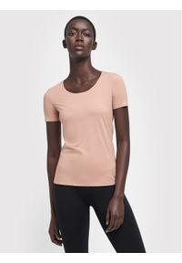Różowy t-shirt Wolford