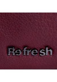 Czerwona listonoszka Refresh na ramię