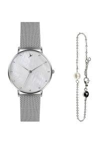 Emily Westwood Seashell Mesh & Silver Mini Pearl Bracelet EWS001. Materiał: mesh