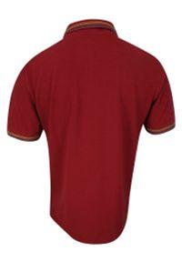 Belika - Koszulka POLO, Pomarańczowa, z Kieszonką, Męska, Krótki Rękaw, T-shirt -BELIKA. Okazja: na co dzień. Typ kołnierza: polo. Kolor: pomarańczowy. Materiał: bawełna. Długość rękawa: krótki rękaw. Długość: krótkie. Styl: casual