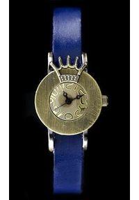 Niebieski zegarek NoName retro #1