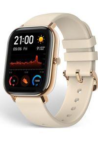 Złoty zegarek Xiaomi smartwatch