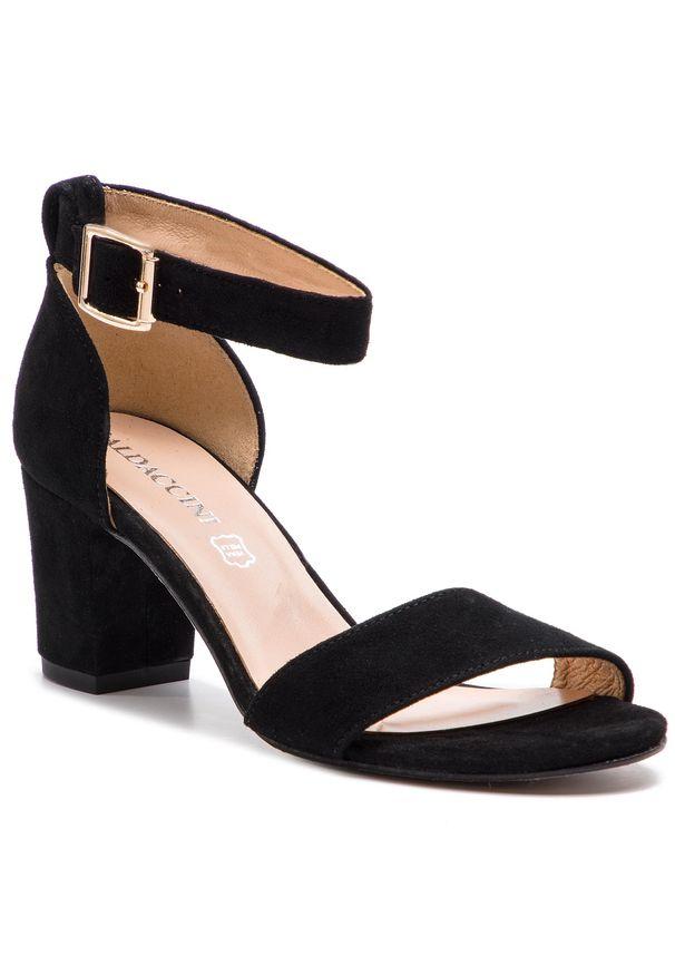 Czarne sandały Baldaccini casualowe, na co dzień